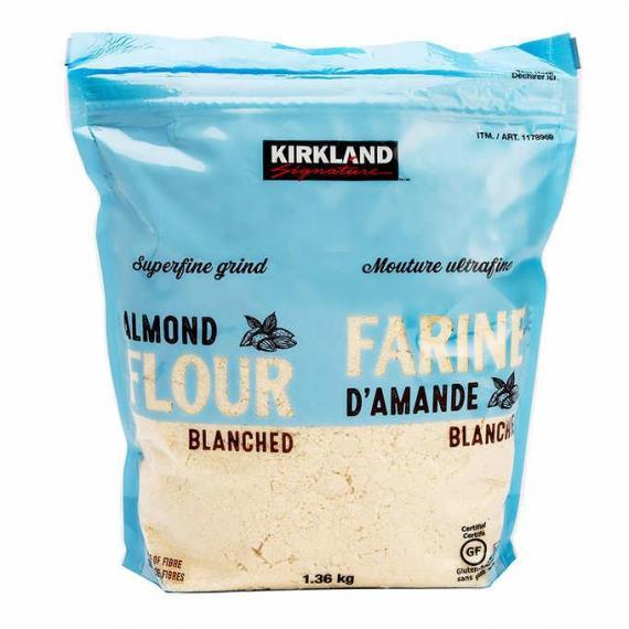 Kirkland Signature Superfine Farine d'amande , affinée, blanchie, 1,36 kg