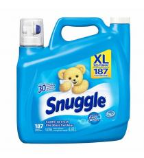 Snuggle Liquid Fabric Softener, 4.43 L, 187 Wash Loads