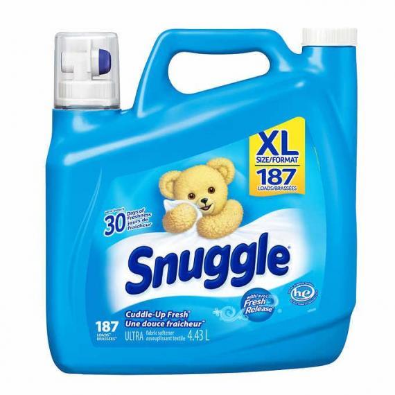 Snuggle Assouplissant liquide pour tissus, 4,43 L, 187 charges de lavage