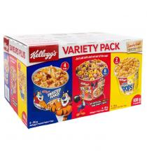 Kellogg's Cereal Variety Pack, 12 unités