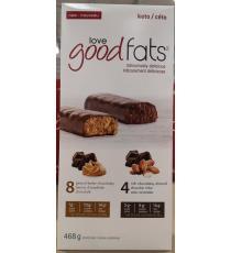 Love Good Fats, package varies, 12 X 39 gr.