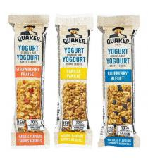 Quaker Yogurt Granola Bars, 34 x 35 g