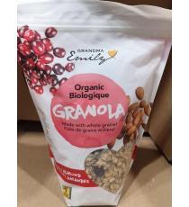 Grandma Emily, Granola Cran / Amandes, Biologique, 750 g