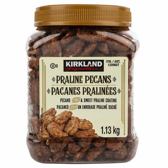 Kirkland Signature Praline Pecans, 1.13 kg