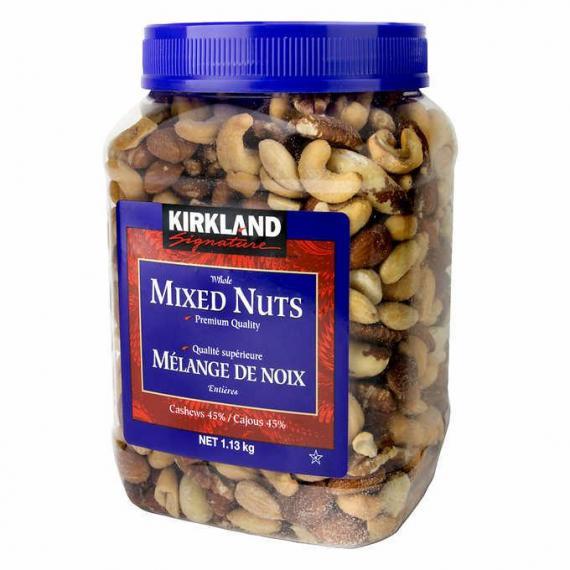 Kirkland Signature Mixed Nuts, 1.13 kg (2.49 lb)