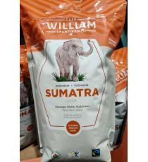 William Spartivento Sumatra Organique des grains de Café de 1000 g