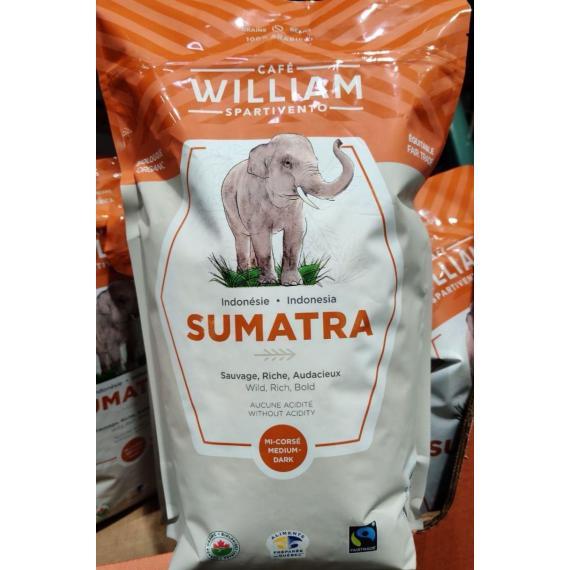 William Spartivento Sumatra Organique des grains de Café de 1000 g