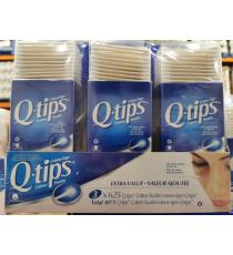 O-tips cotton Swabs, 3*625 tips