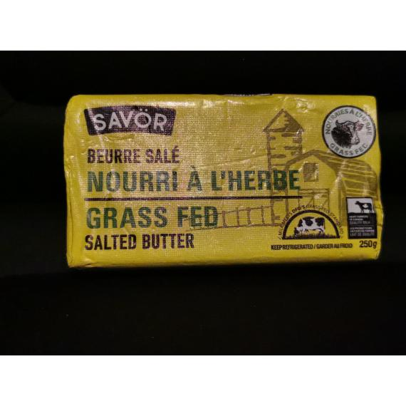 Savor salted butter, 250 gr