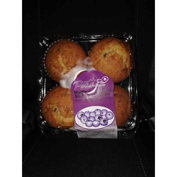 Blueberry Muffins, pack of 4