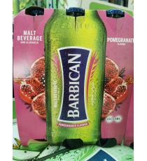 Barbican Non-alcoholic Malt Beverage, Pomegranate Flavour, 6*330 ml