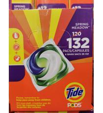 Tide Laundry Detergent Pack, 132 pods, 3.04 kg