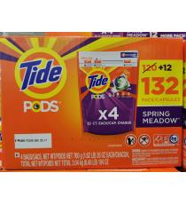 Tide Laundry Detergent Pack, 132 pods, 3.04 kg