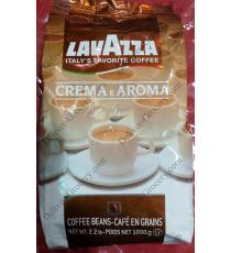 Lavazza Creamy and Aromatic Coffee beans 1 Kg