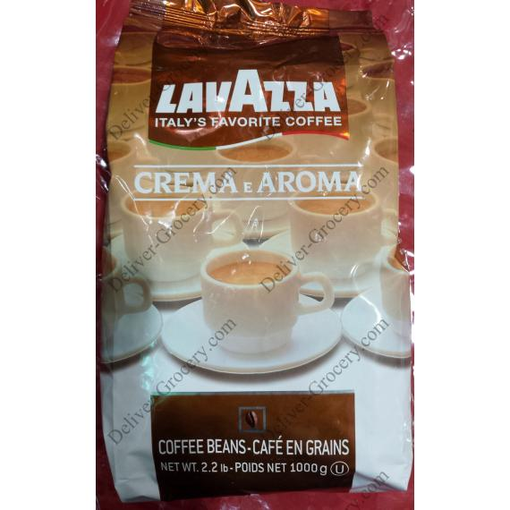 Lavazza Creamy and Aromatic Coffee 1 Kg