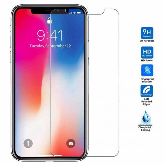 Protecteur d'écran en verre trempé pour iPhone