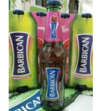 Barbican Boisson non alcoolisée au malt, saveur de pêche, 6 * 330 ml
