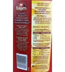 Folgers Traditional Coffee, 1.36 Kg