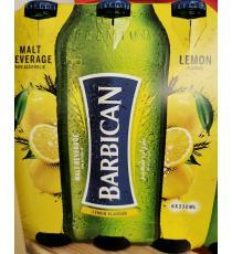 Barbican Boisson non alcoolisée au malt, saveur de citron, 6 * 330 ml