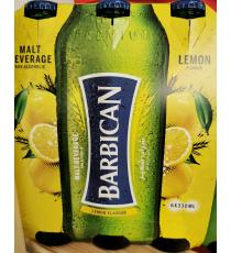 Barbican Non-alcoholic Malt Beverage, Lemon Flavour, 6*330 ml