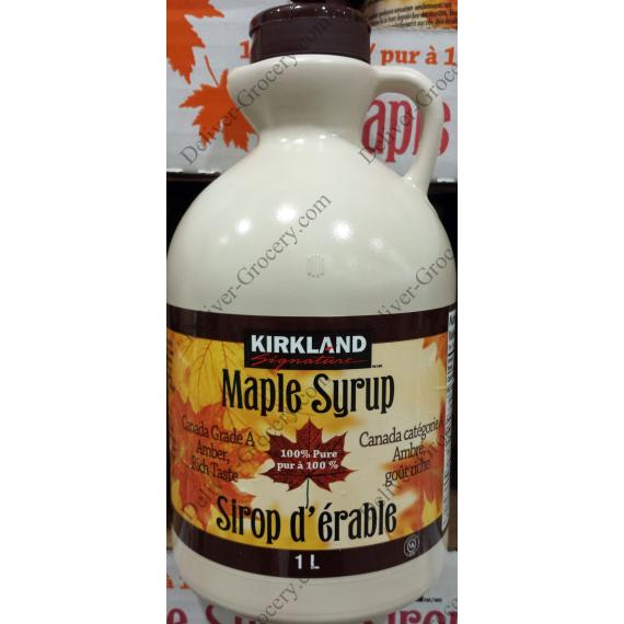 Kirkland Signature Maple Syrup 1 L