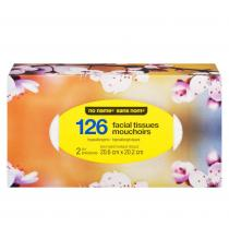 Facial Tissue, 126 pieces, 2ply