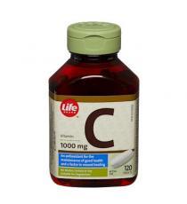 Life vitamin C 1000 mg, 120 tablets