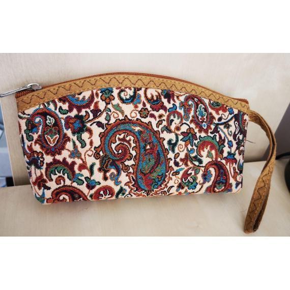 Women's small handbag, handmade