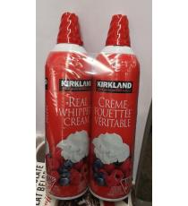 Kirkland Signature Whipping Cream , 2 X 400 g