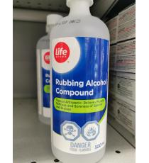 life Rubbing Alcohol 95%,500 ml