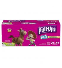 Huggies Pull-Ups Plus Training Pants 2T - 3T Girl Pack of 124