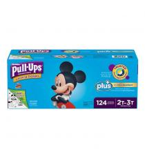 Huggies Pull-Ups Plus Training Pants 2T - 3T Boy Pack of 124