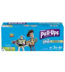 Huggies Pull-Ups Plus Training Pants 3T - 4T Boy Pack of 116