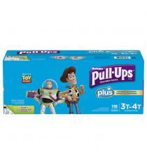 Pantalon d'entraînement Huggies Pull-Ups Plus 3T - 4T Garçon Paquet de 116