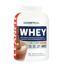 LeanFit Naturals Whey Protein Chocolate Powder Blend 2 kg