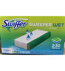 Swiffer Sweeper Wet Mopping Cloths 60 refills