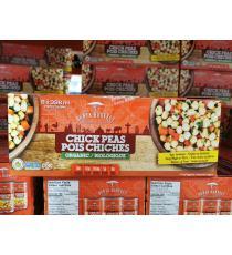 DUNYA HARVEST Organic Chick Peas, 8 x 398 ml.