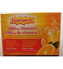 Emergen-C vitamin C, 1000 mg, 30 sachets