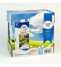 Grand Pre Milk 2% 6 x 1 L