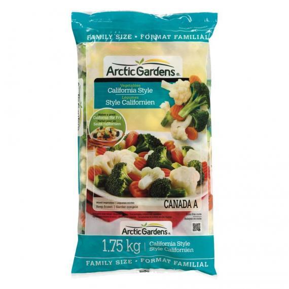 Arctic garden vegetables California style, 1.75 kg