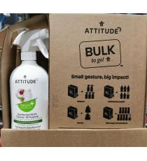 Attitude Disinfectant 99.9%, Cleaner All purpose 4L 800 ml