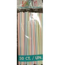 Straw, 50 pieces