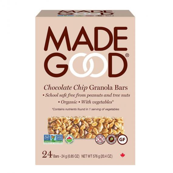 Made Good Chocolate chip Granola Bars, 24*24 gr