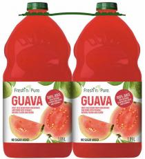 Fresh Pure Guava juice, 2 x 1.89 L