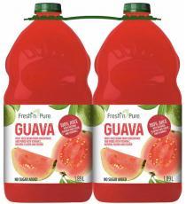 Fresh Pure Guava juice, 2 x 1.89 L