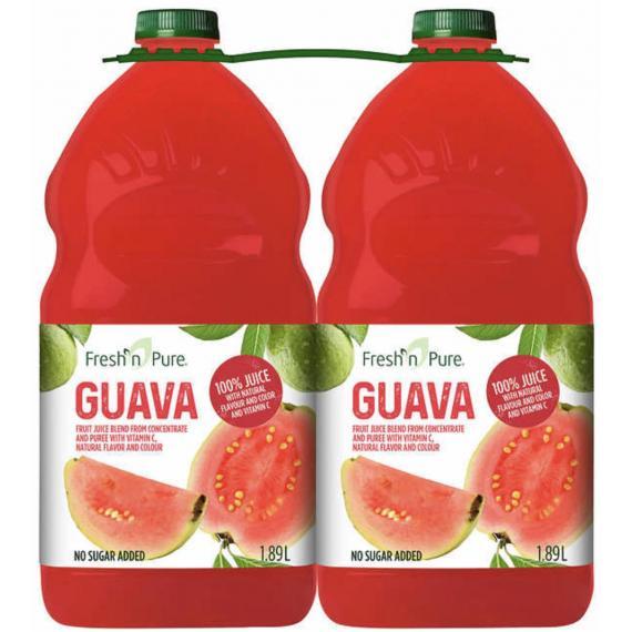 Fresh Pure Goyave juice, 2* 1.89 L