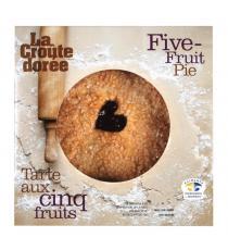 La Croute Doree Tarte aux Cinq Fruits