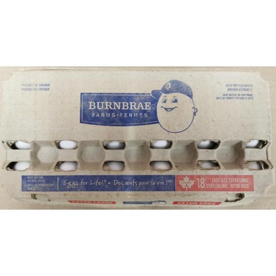 BURNBRAE Farms Extra Large Eggs, 18x
