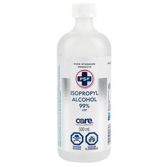 Alcool isopropylique 99%, 500 ml