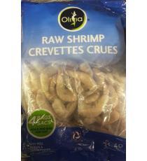 Olivia Crevettes Crues 31/40 , 1.82 kg